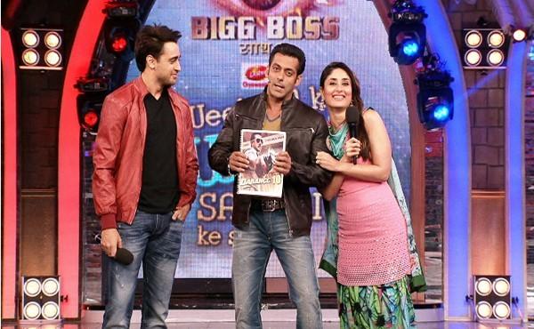 Kareena Kapoor, Salman Khan and Imran Khan on Bigg Boss 7