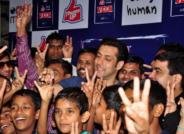 special screening of JAI HO for NGO kids at ketnav
