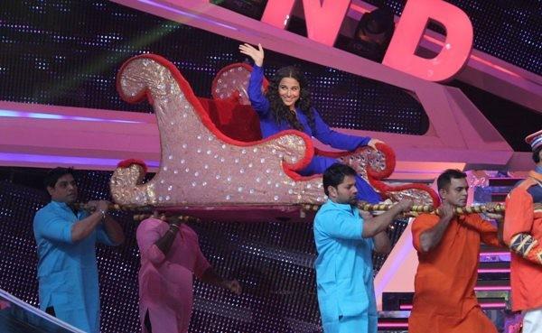 Vidya Balan on Nach Baliye Grand Finale