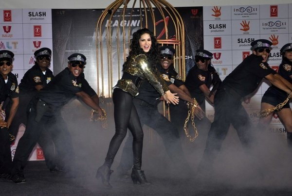 Sunny Leone promotes her upcoming film Ragini MMS 2.