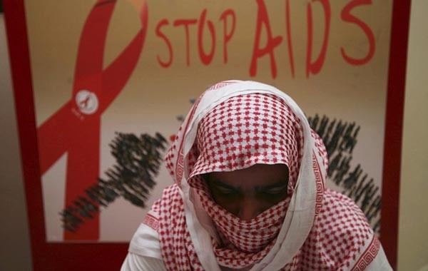 Five healthy Saudi women have willingly come forward to marry men with AIDS.