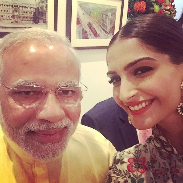 Selfie with NaMo