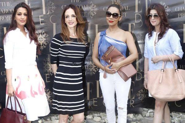 Gauri Khan, Twinkle Khanna, Sonali Bendre supports Suzanne's 'Chargold Week' Launch