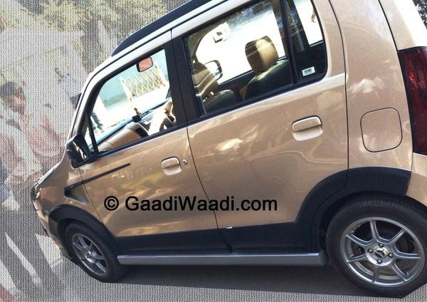Maruti Suzuki Wagon R Xrest is in the Works? Spied Virtually Undisguised Ahead Of Launch