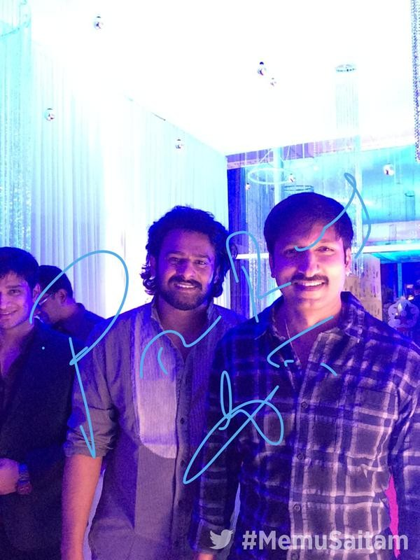 Prabhas and Gopichand