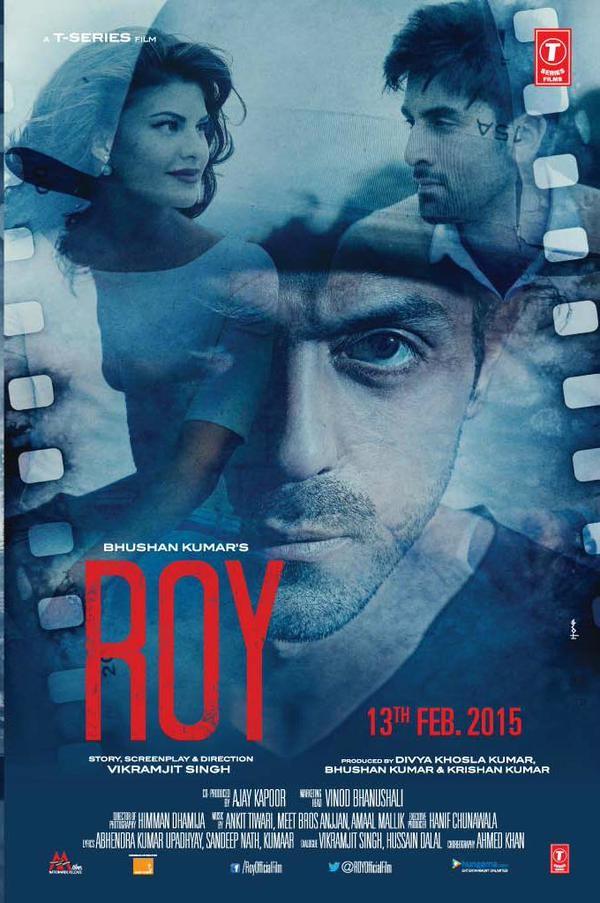 Ranbir Kapoor, Arjun Rampal, Jacqueline Fernandez starrer 'ROY' Film Posters