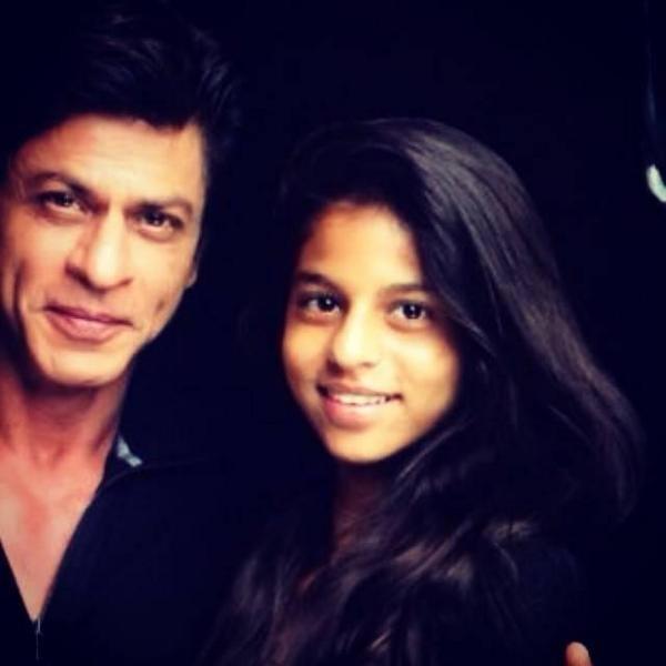 Shah Rukh Khan with Aryan, Suhana