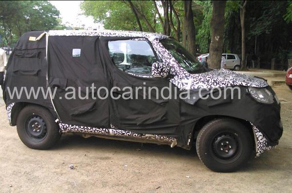 Mahindra S101 and New-Gen Bolero Spied Together