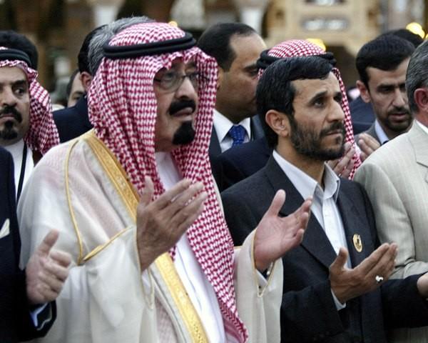 Saudi King in Iran