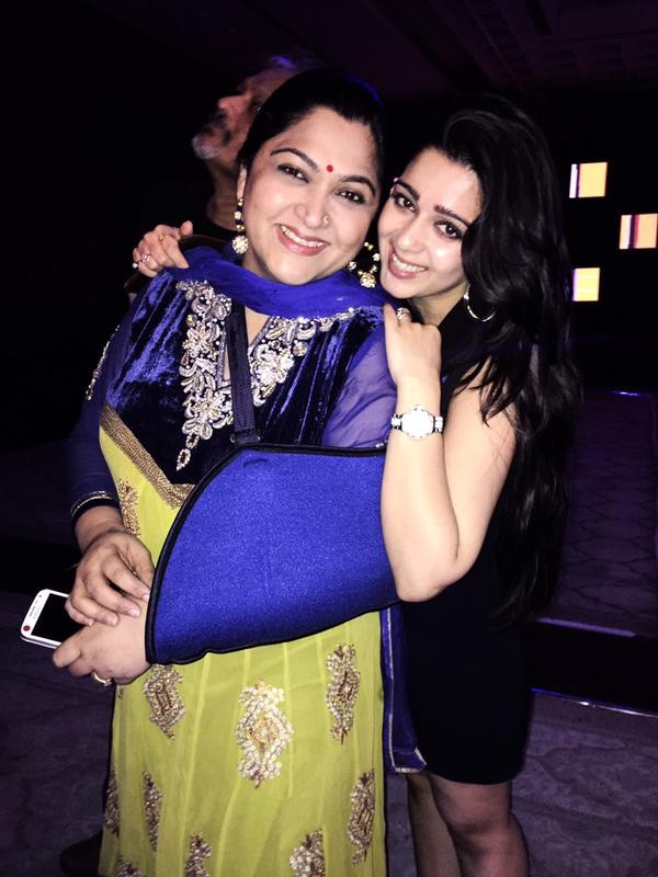 Charmy with Khushboo