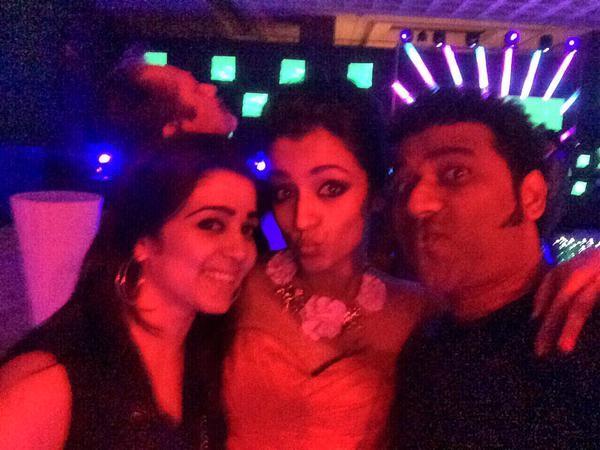 Charmy,Trisha & DSP