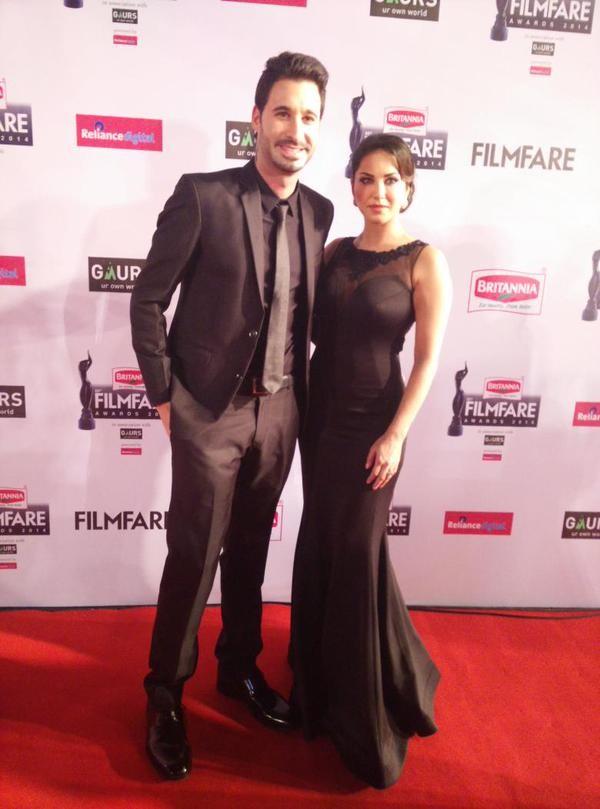 Sunny Leone and Husband