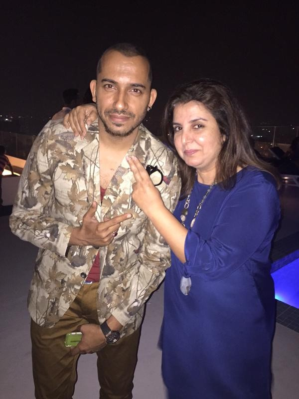 'Bigg Boss 8' party at Farah Khan's house