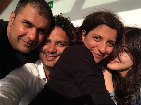 'Dil Dhadakne Do': Candid Shots of Anushka Sharma, Ranveer Singh, Priyanka Chopra and Other Cast Members
