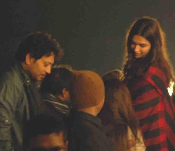 Behind-the-scene Pictures from the sets of 'Piku'
