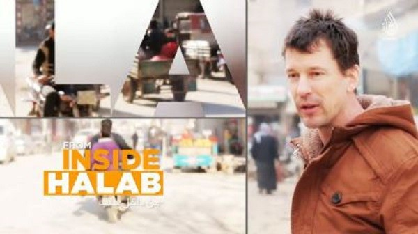 British Journalist John Cantlie reports for ISIS from inside Aleppo.