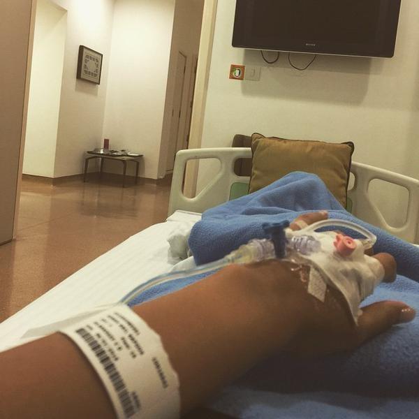 Sonam Kapoor Hospitalised