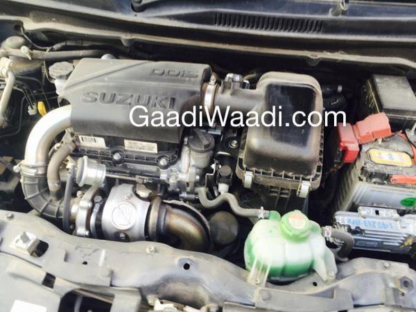 Maruti Suzuki Celerio Diesel Engine Spied for First Time