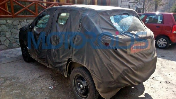Maruti Alto Rival Renault XBA Spied Testing; Expected Launch, Price, Feature Details