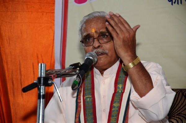 RSS General Secretary Bhaiyyaji Joshi.