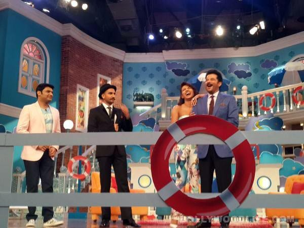 'Welcome To Karachi' Team, 'Dil Dhadakne Do' Star Cast and Madhuri Dixit's Pictures At 'Comedy Nights With Kapil'