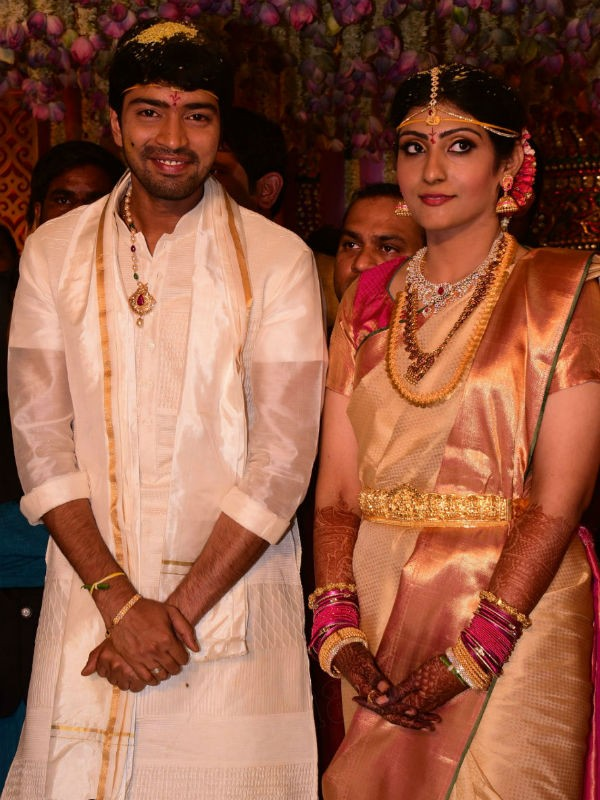 Allari Naresh and Virupa Kantamaneni's Wedding