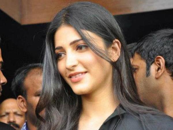 Shruti Haasan without Makeup