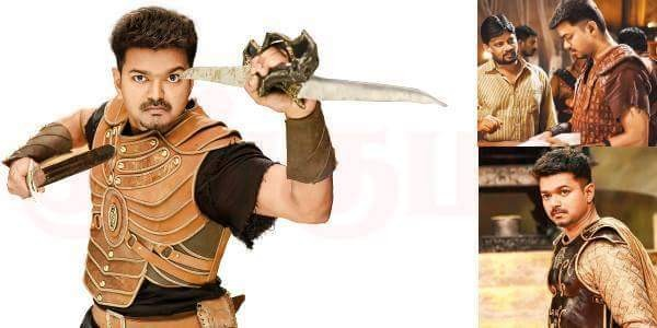 A movie still of 'Puli'