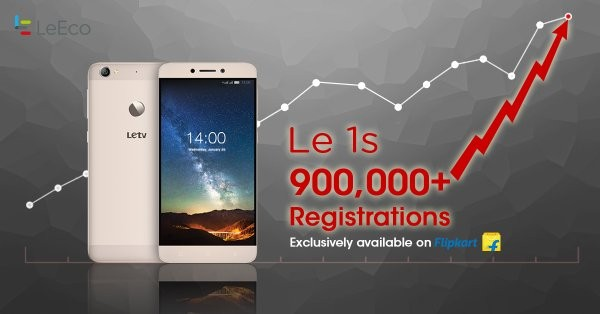 LeEco Le 1s will be available on Flipkart on Tuesday, February 9, 2016.
