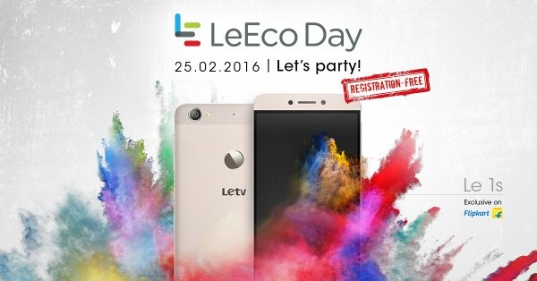 LeEco is offering Rs 8 crore worth prizes on Flipkart on Feb. 25