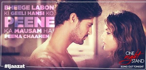 """Sunny Leone and Tanuj Virwani in """"Ijazat"""" song"""