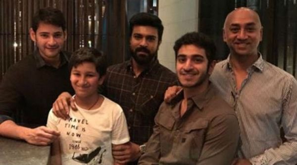 Mahesh Babu and Ram Charan