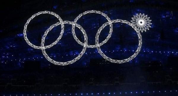 Sochi Ring Fail/Reuters
