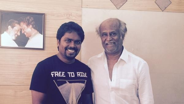 Rajinikanth with Pa Ranjith