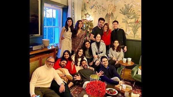 Sonam Kapoor with family