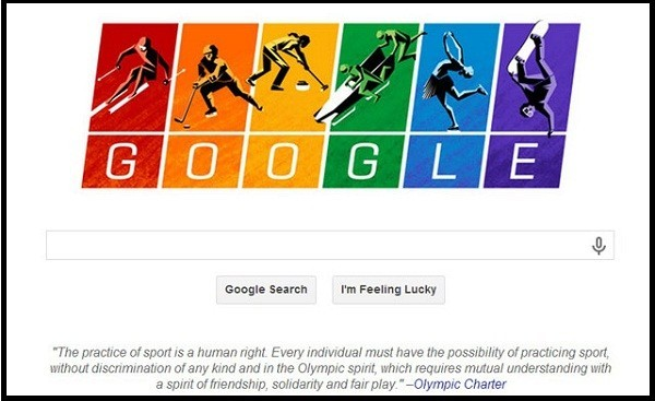 Google Doodle shows support to LGBT/Screenshot