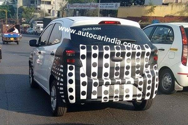 2015 Ford Figo Hatchback Spied Testing For First Time in India