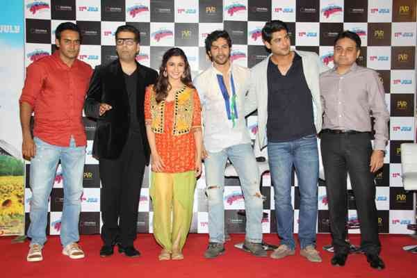 Trailer launch of upcoming film 'Humpy Sharma Ki Dulhania'