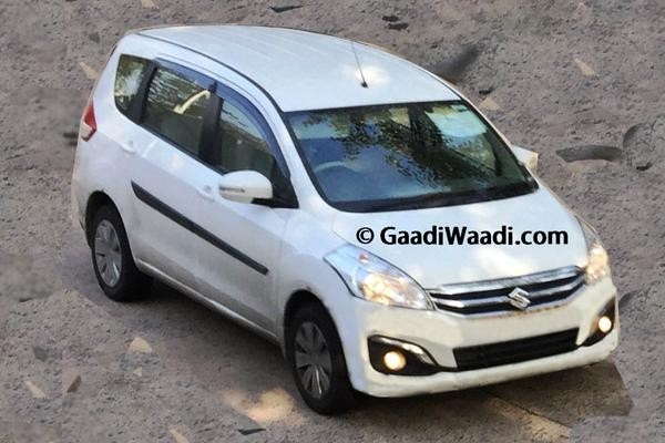 Maruti Ertiga Facelift Spied Undisguised Ahead of June Debut Again; All You Need to Know