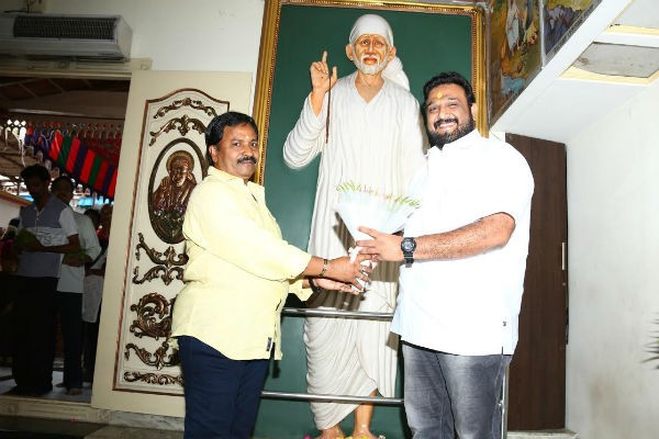 AM Rathnam with Shiva at