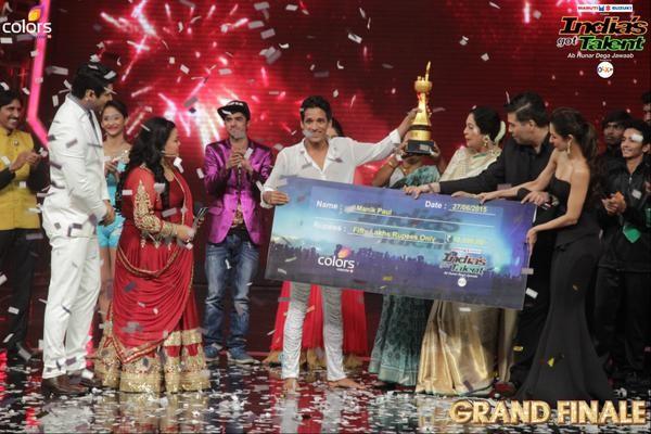 India's Got Talent 6 winner Manik Paul