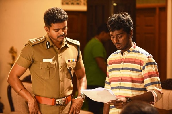 Vijay with Atlee