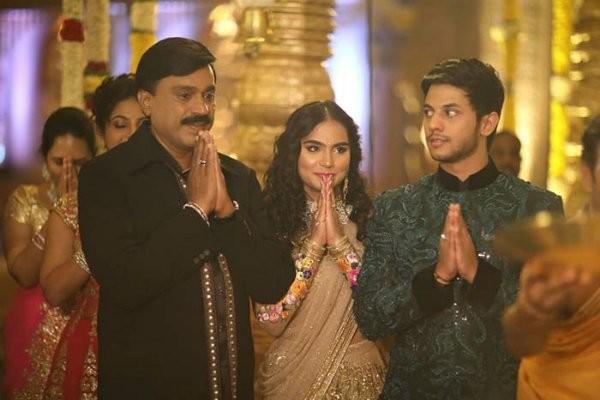 Janardhan Reddy's daughter Brahmani's marriage