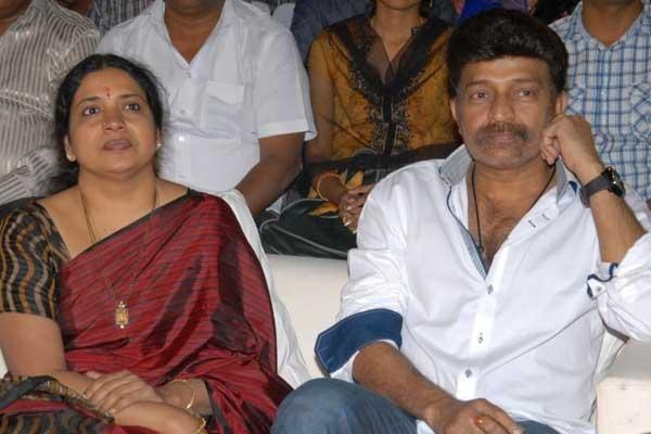 Dr Rajasekhar's wife Jeevitha