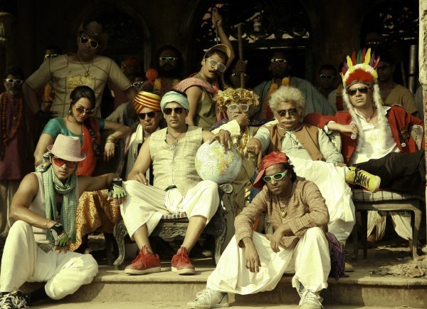 picture of satr cast from the sets of 'Joker' film