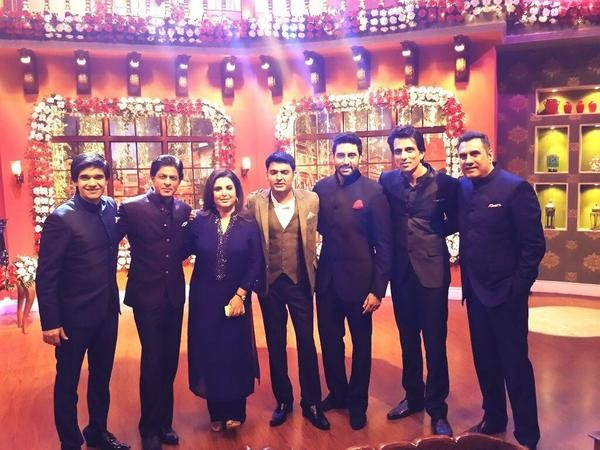 Shah Rukh Khan's 'Happy New Year' Team on 'Comedy Nights With Kapil'
