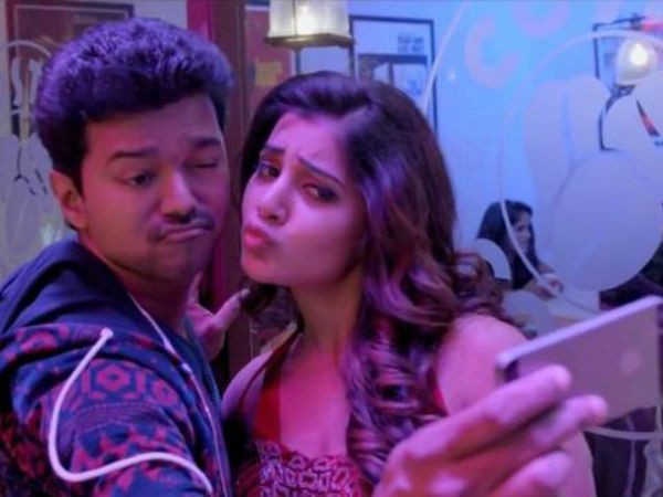 Vijay and Samantha