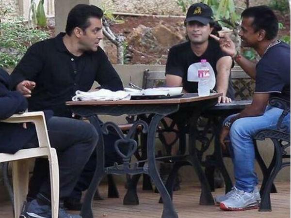 Salman Khan with AR Murugadoss