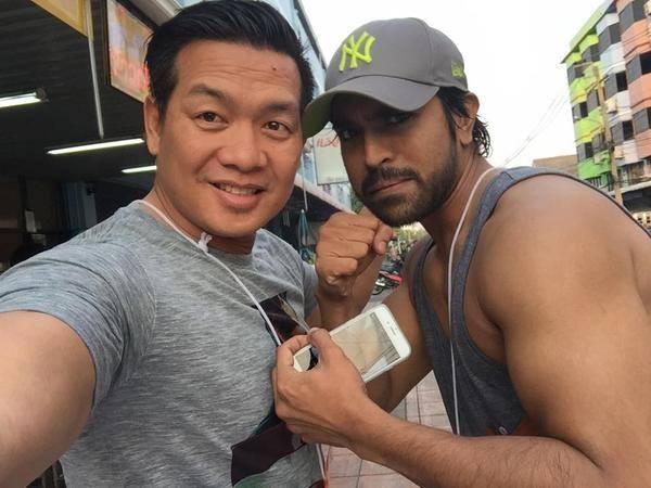 Ram Charan's Martial Arts training