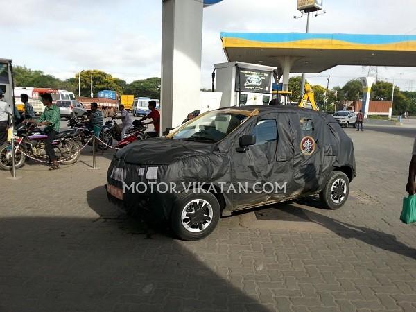 Renault's Small Car XBA (Kayou)